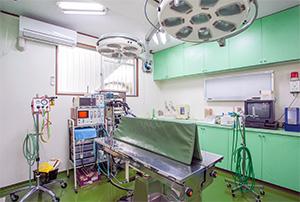 小鳥のセンター病院・手術室